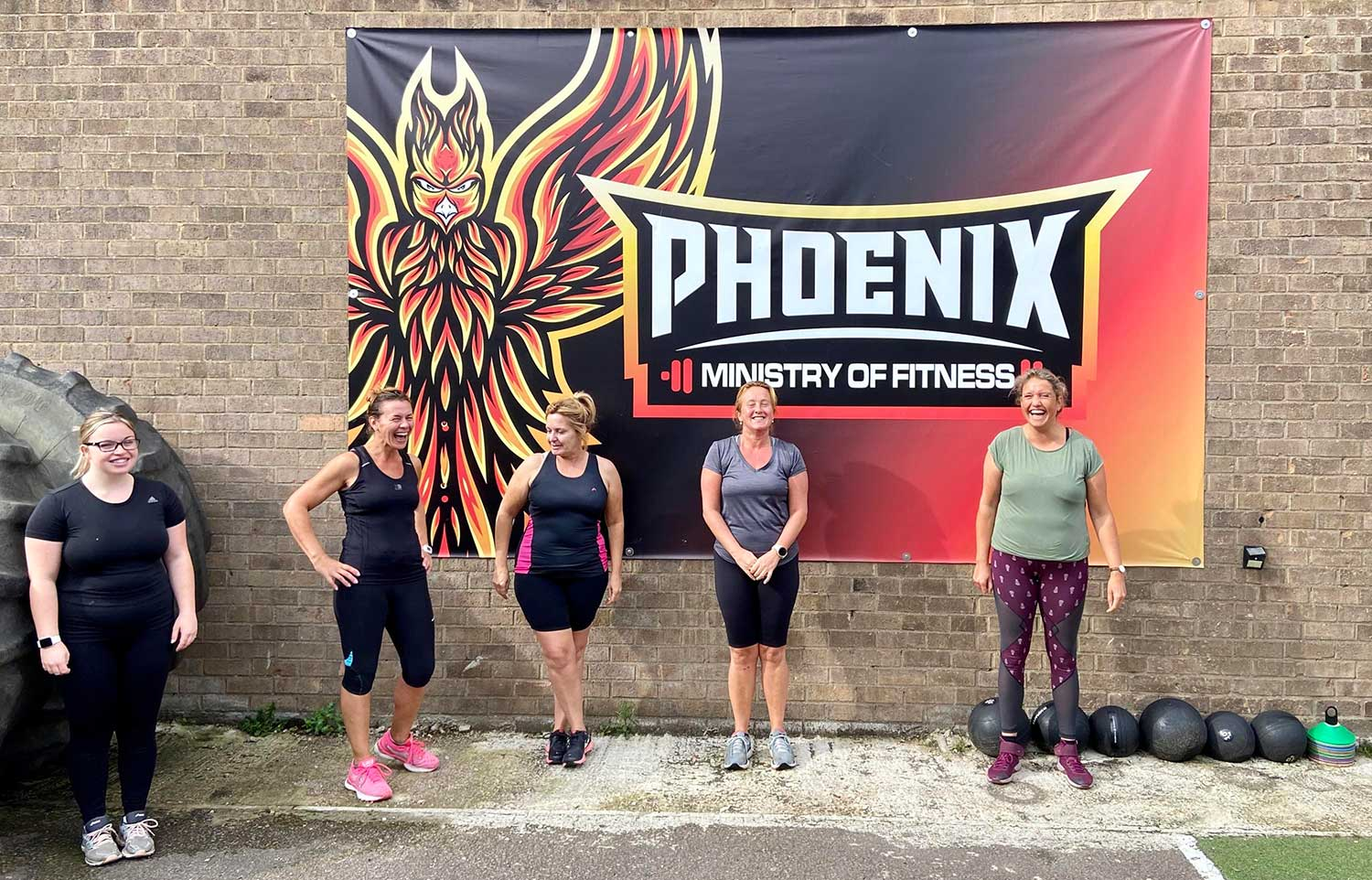 Phoenix Fitness happy members